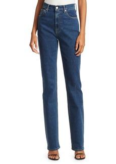 Helmut Lang Femme High-Rise Bootcut Jeans