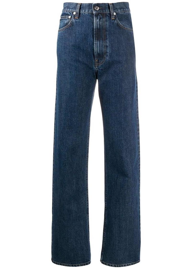 Helmut Lang Femme high-rise straight jeans