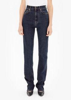 Helmut Lang Femme High Waist Bootcut Jeans