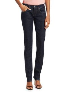 Helmut Lang Femme Low-Rise Cigarette Jeans
