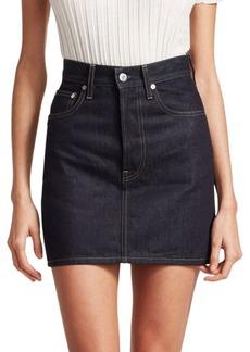 Helmut Lang Femme Mini Skirt