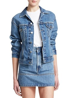 11d790c54f9 On Sale today! Helmut Lang Flannel Inserts Denim Jacket