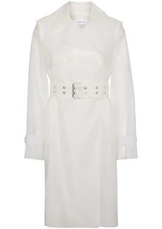Helmut Lang fetish trench coat