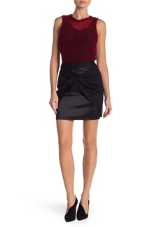 Helmut Lang Fine Sarong Wool Skirt