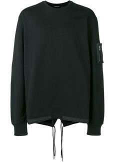 Helmut Lang fishtail crew-neck sweatshirt
