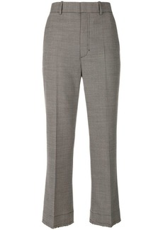 Helmut Lang frayed tailored trousers