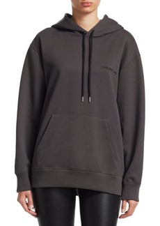 Helmut Lang French Terry Logo Hoodie
