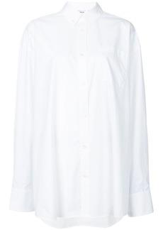 Helmut Lang glitter logo shirt