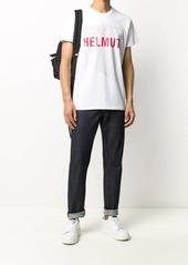 Helmut Lang graphic print short sleeve T-shirt