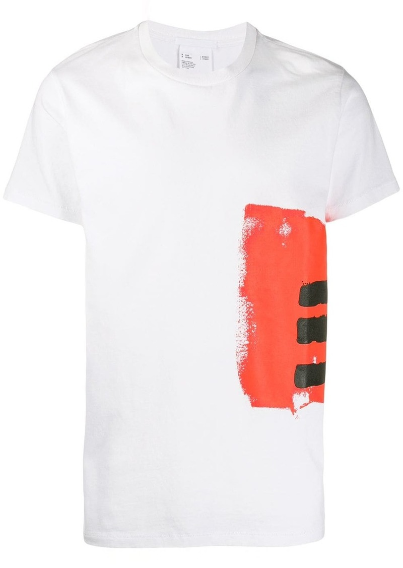 Helmut Lang graphic print T-shirt