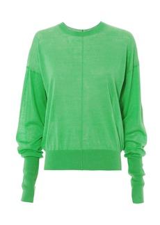 Helmut Lang Green Knit Top
