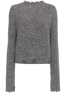 Helmut Lang Grunge distressed sweater
