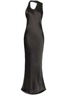 Helmut Lang halterneck backless gown