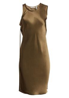 Helmut Lang Harness Satin Dress