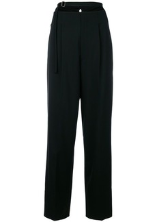 Helmut Lang harness strap trousers
