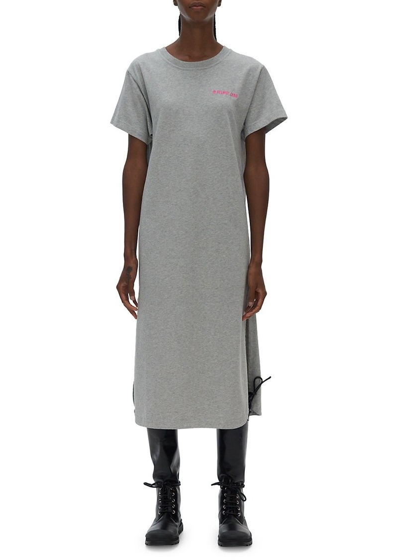 Heavy Cotton T-Shirt Midi Dress