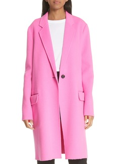 Helmut Lang Double Face Wool & Cashmere Coat