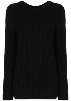 Helmut Lang Ghost ribbed knit jumper