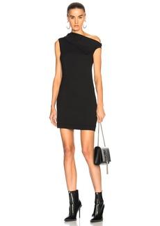 Helmut Lang Asymmetric Mini Dress