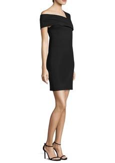 Helmut Lang Asymmetrical Sheath Dress