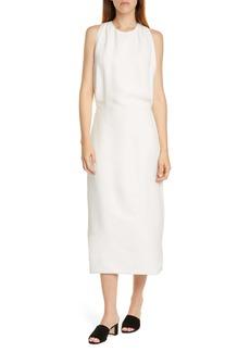 Helmut Lang Back Slit Midi Dress
