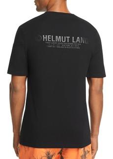 Helmut Lang Back Tonal Logo-Print Tee