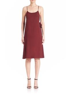 Helmut Lang Back Wrap Slip Dress