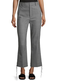 Helmut Lang Birdseye Wool Suiting Pants