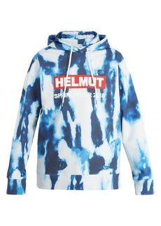 Helmut Lang Bleacher printed cotton hooded sweatshirt