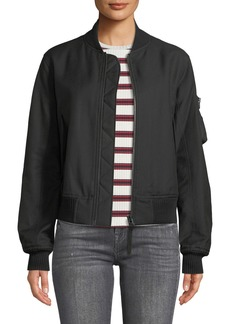Helmut Lang Bomber Jacket with Utility Sleeve