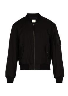 Helmut Lang Bondage canvas bomber jacket
