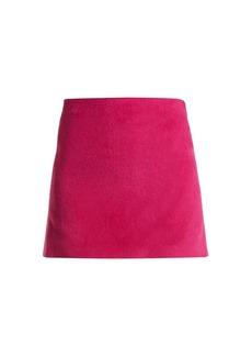 Helmut Lang Brushed Magenta 2000 mini skirt