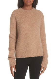Helmut Lang Brushed Wool & Alpaca Blend Sweater