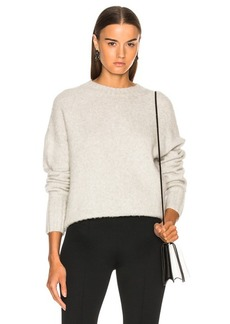 Helmut Lang Brushed Wool Crew Sweater