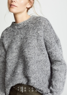 Helmut Lang Brushed Wool Crewneck