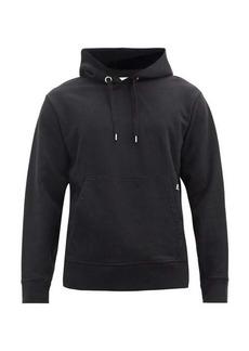 Helmut Lang Buckled-strap cotton-jersey hooded sweatshirt