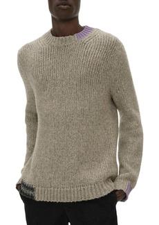 Helmut Lang Camel Crewneck Sweater