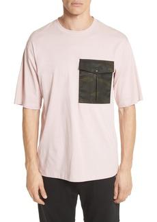 Helmut Lang Camo Pocket T-Shirt
