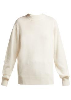 Helmut Lang Cashmere ring-shoulder sweater