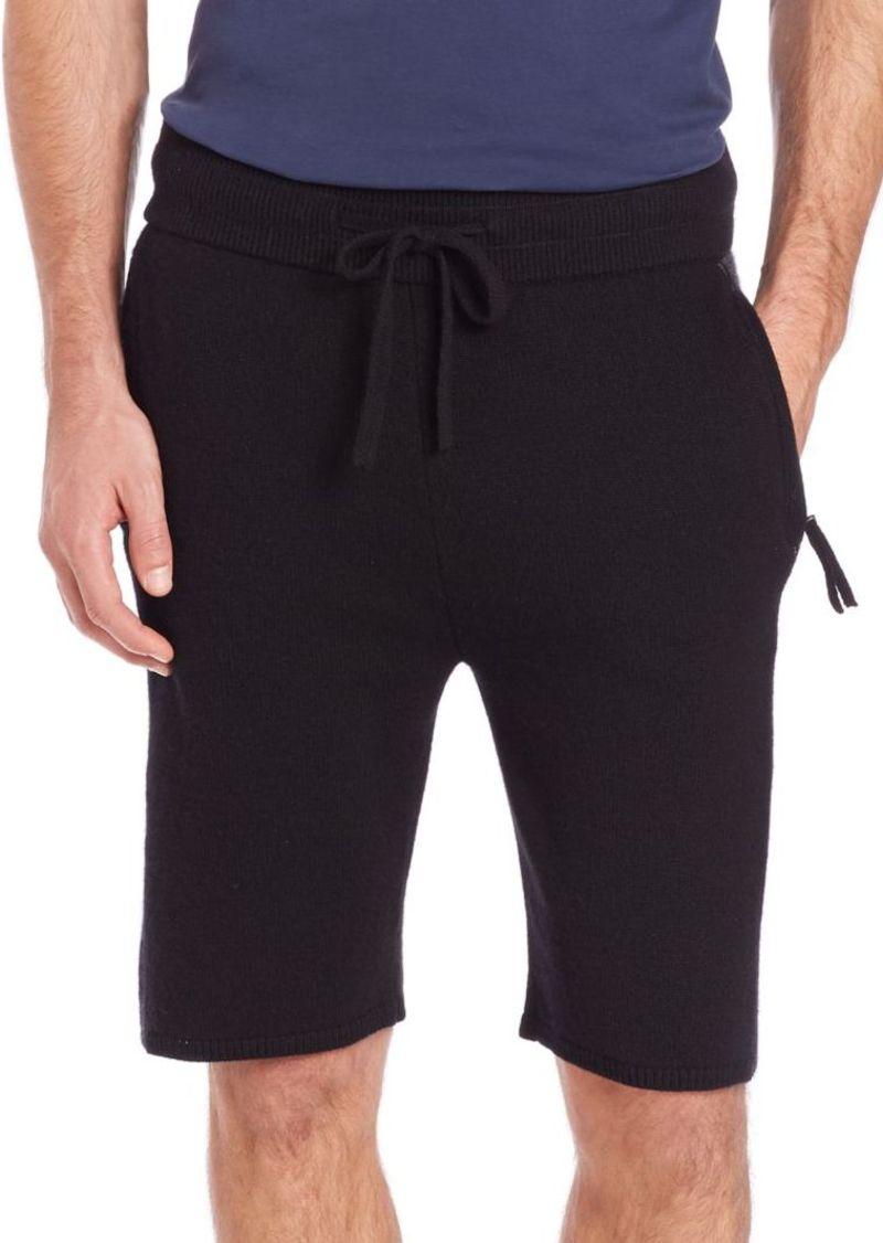 Helmut Lang Cashmere Shorts