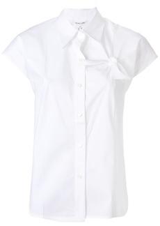 Helmut Lang chest knot shirt - White