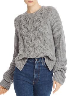 Helmut Lang Chunky Lambswool Sweater