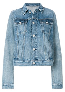 Helmut Lang classic denim jacket - Blue