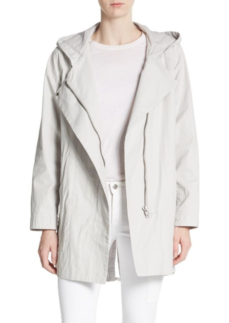 Helmut Lang Coated Stretch-Cotton Jacket