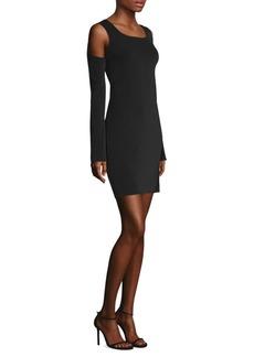Helmut Lang Cold Shoulder Dress