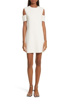 Helmut Lang Cold Shoulder Shift Dress