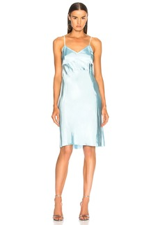 Helmut Lang Compact Slip Dress