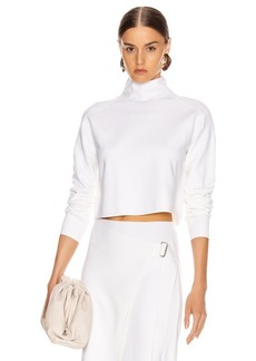 Helmut Lang Compact Wool Turtleneck Sweater