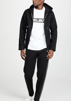 Helmut Lang Contrast Zip Hoodie