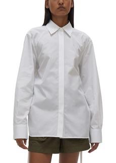 Helmut Lang Corset Button-Up Shirt